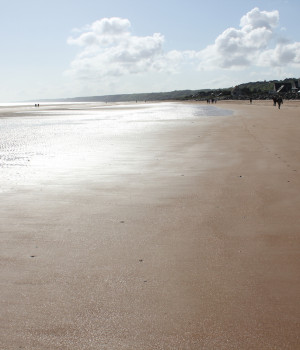 From our tour of Normandy (Omaha Beach)