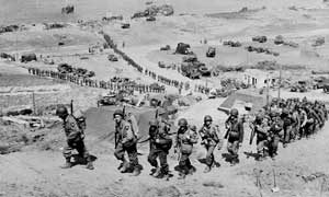2nd Infantery division on Omaha Beach