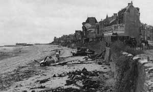 Juno Beach at the village St. Aubin