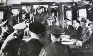 Signing of the armistice