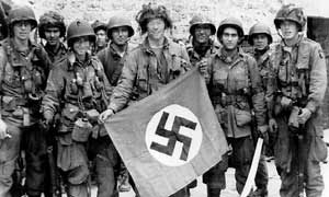 Soldiers from the 101th Airborne