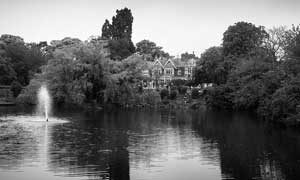 Bletchley Park. Home of the Allied codebreaker during WWII